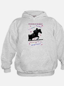 Pastel I Love Horses! Hoodie