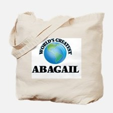 World's Greatest Abagail Tote Bag