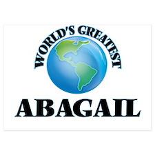 World's Greatest Abagail Invitations