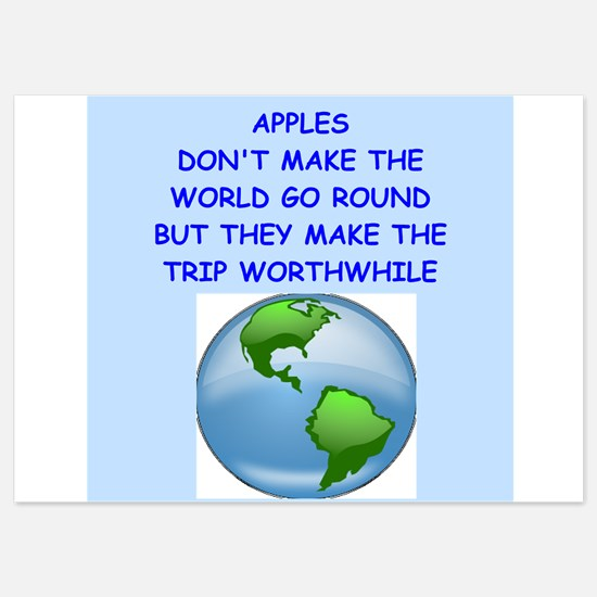apple 5x7 Flat Cards