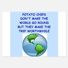 potato chip Invitations