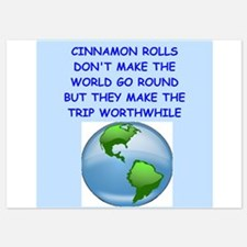 cinnamon rolls Invitations
