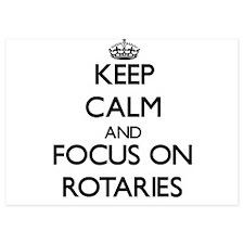 Keep Calm and focus on Rotaries Invitations