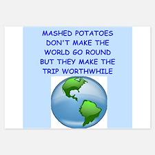 mashed potatoes Invitations
