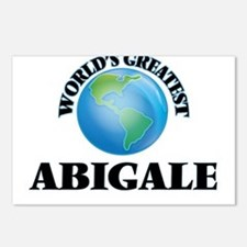 World's Greatest Abigale Postcards (Package of 8)