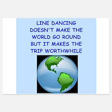 line dancing Invitations