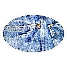 Denim Blue Jeans Decal