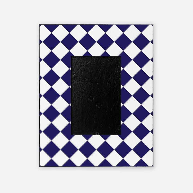 navy blue picture frames navy blue photo frames cafepress. Black Bedroom Furniture Sets. Home Design Ideas