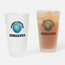 World's Greatest Adrianna Drinking Glass