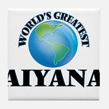 World's Greatest Aiyana Tile Coaster