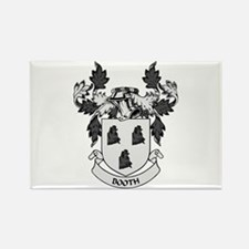 BOOTH Coat of Arms Rectangle Magnet