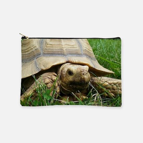 Sulcata Tortoise Makeup Pouch