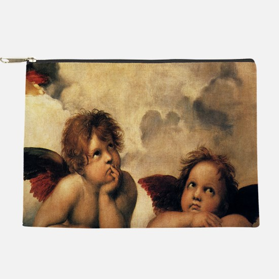 Sistine Madonna Angels by Raphael Makeup Pouch