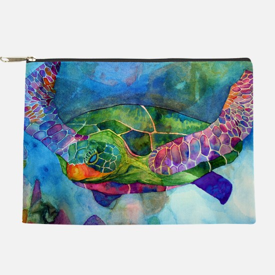 sea turtle full Makeup Pouch