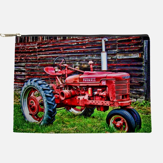 Red Tractor HDR Style Makeup Pouch