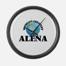 World's Greatest Alena Large Wall Clock