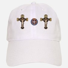 Benedictine Crucifix and Medal Baseball Baseball Baseball Cap