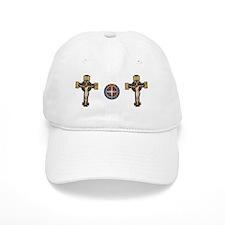 Benedictine Crucifix and Medal Baseball Baseball Cap
