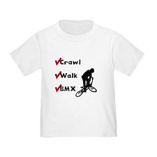 Crawl Walk BMX T-Shirt
