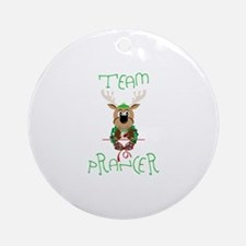 Team Prancer Ornament (Round)