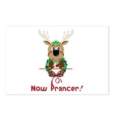 Now Prancer Postcards (Package of 8)