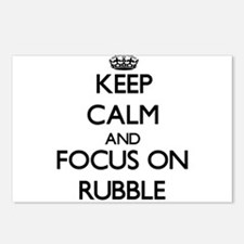 Keep Calm and focus on Ru Postcards (Package of 8)