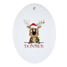 Donner Ornament (Oval)