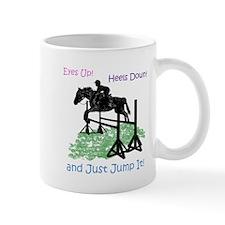 Fun Hunter/Jumper Equestrian Horse Mugs