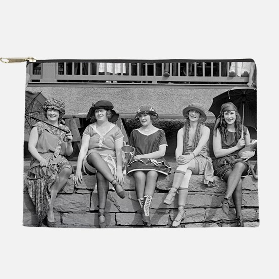 Beach Costume Contest, 1921 Makeup Pouch