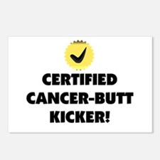 Cancer Butt Kicker Postcards (Package of 8)