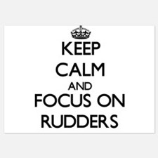 Keep Calm and focus on Rudders Invitations