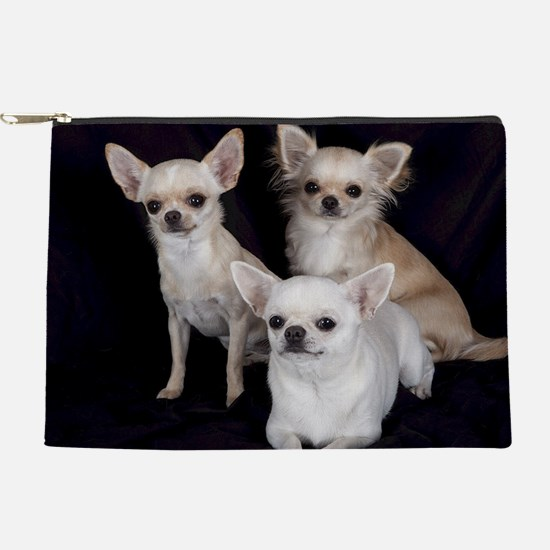 Adorable Chihuahuas Makeup Pouch