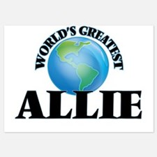 World's Greatest Allie Invitations
