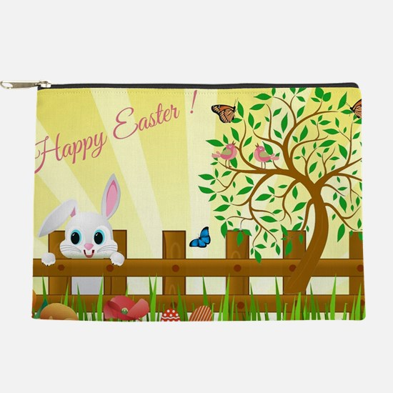 Happy Easter Bunny  Makeup Pouch