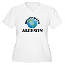 World's Greatest Allyson Plus Size T-Shirt