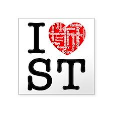 I heart Speech Therapy 2 Sticker