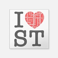 I heart Speech Therapy 2 Sticker