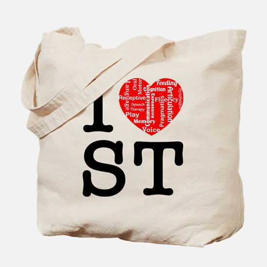 I heart Speech Therapy 2 Tote Bag