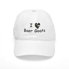 I Love Boer Goats Baseball Cap