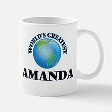 World's Greatest Amanda Mugs