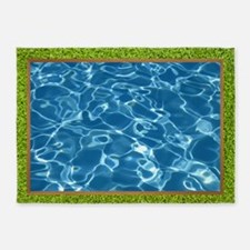 Inground Pool 5'x7'area Rug