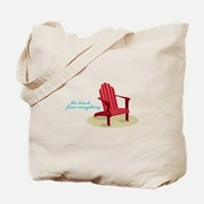 Beach Fixes Everything Tote Bag