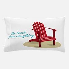 Beach Fixes Everything Pillow Case