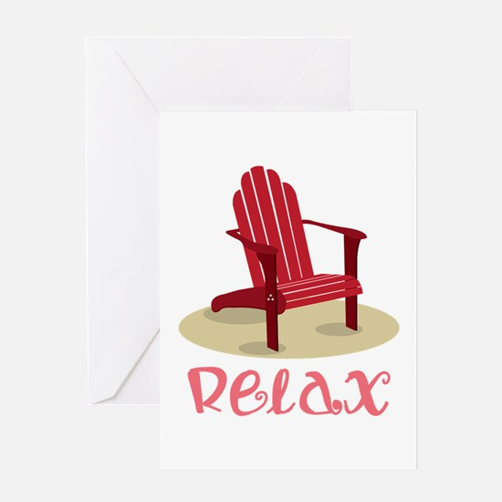 Relax Greeting Cards