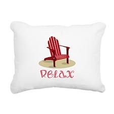 Relax Rectangular Canvas Pillow