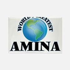 World's Greatest Amina Magnets