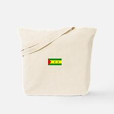 sao tome and principe flag Tote Bag