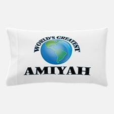 World's Greatest Amiyah Pillow Case