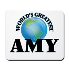 World's Greatest Amy Mousepad