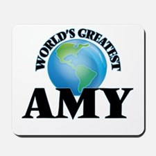World's Greatest Amy Mousepad